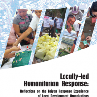 Locally-led Humanitarian Response: Reflections on the Haiyan Response Experience of Local Development Organizations